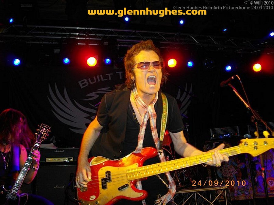 Glenn Hughes - UK Solo Tour 2010 - Picturedrome, Holmfirth, UK